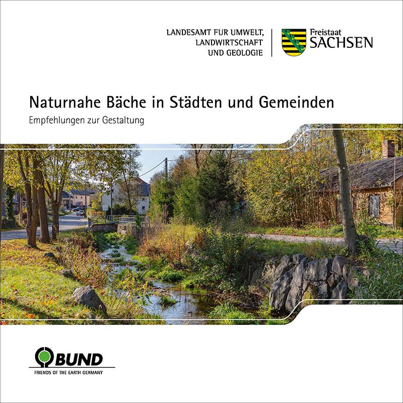 Leitfaden »Naturnahe Bäche in Städten und Gemeinden - Empfehlungen zur Gestaltung«